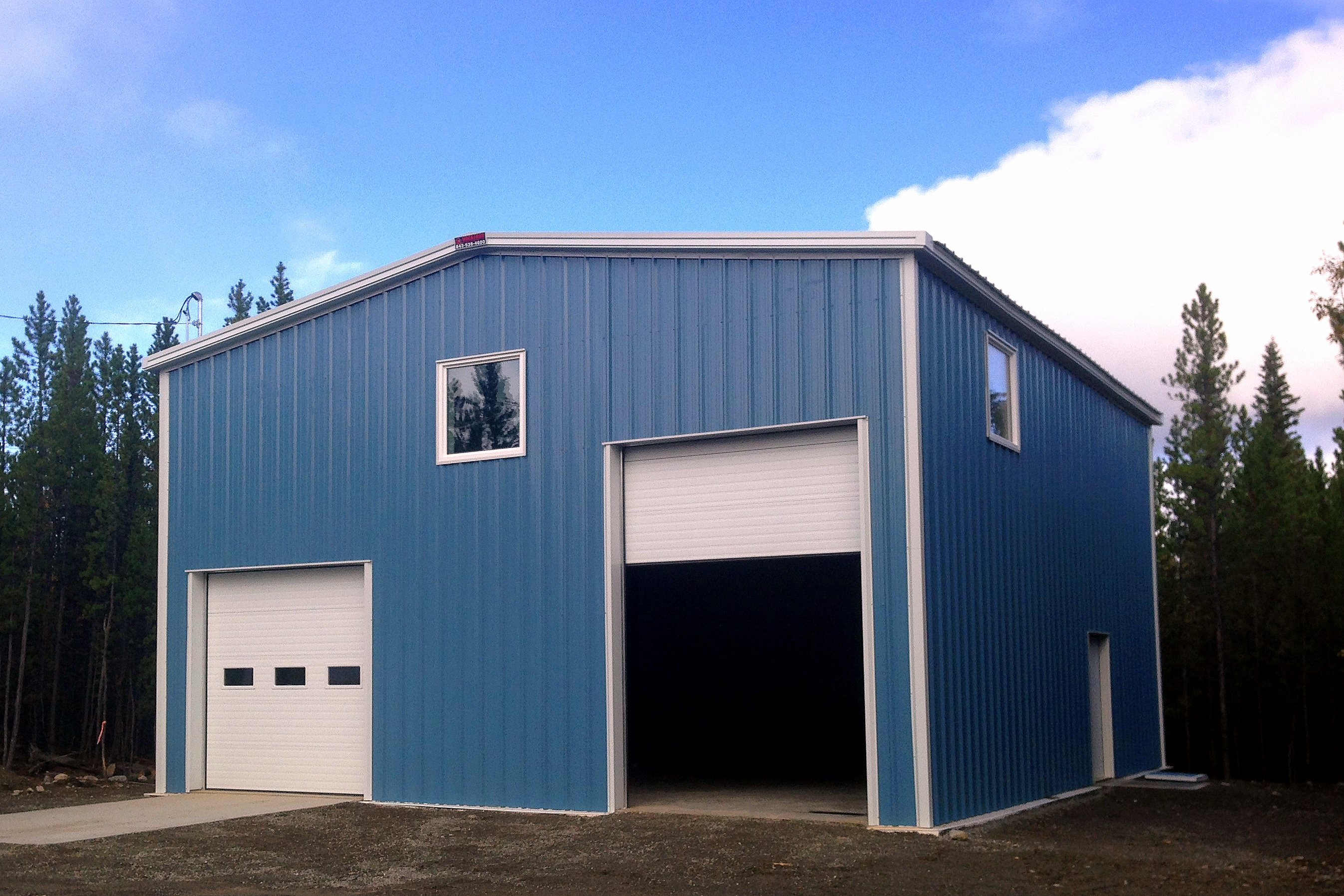 cir steel arctic garage wasilla reeve buildings s ak fox